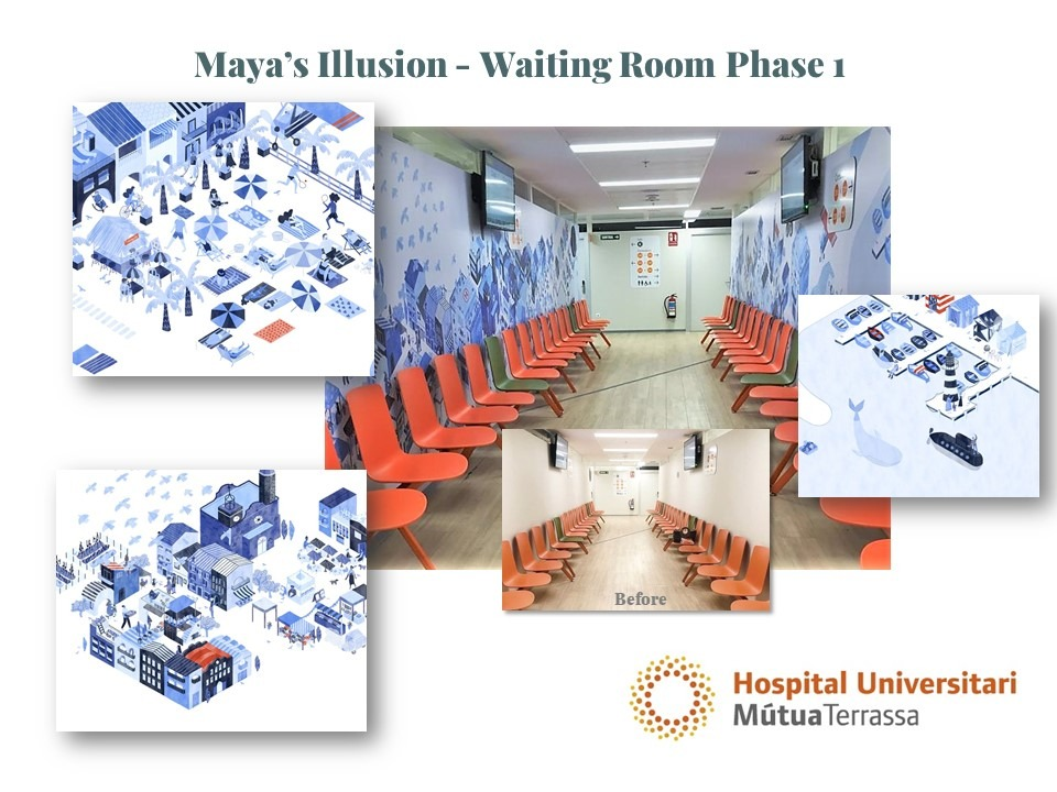Project image for Maya´s Illusion in MutuaTerrassa Phase 1