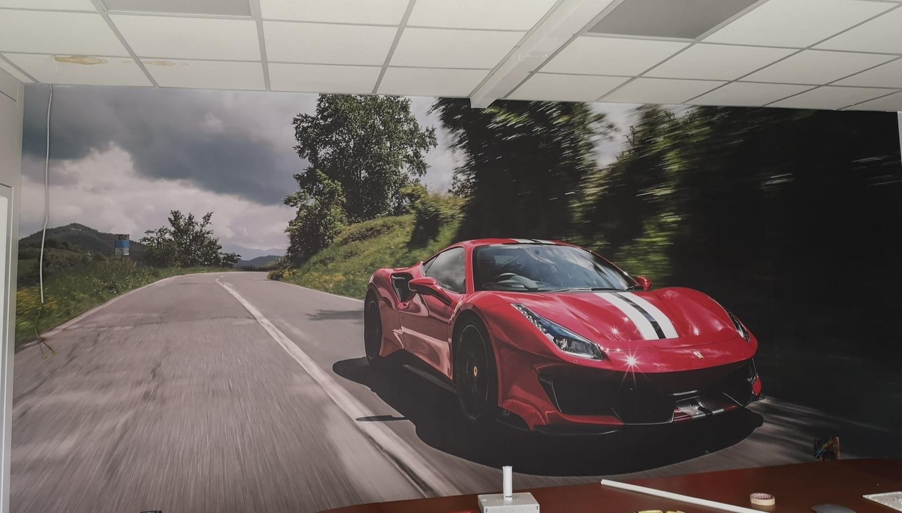 Project image for Decorazione murale in sala riunioni